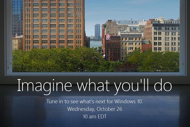 Windows 10: říjnová tiskovka