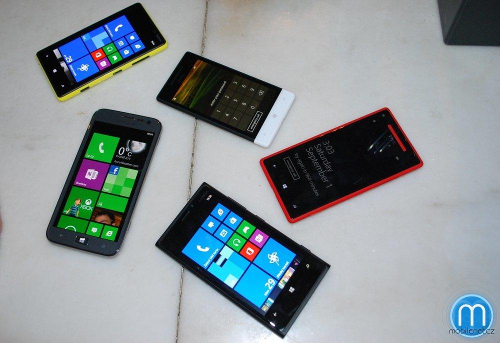 Windows Phone 8 telefony