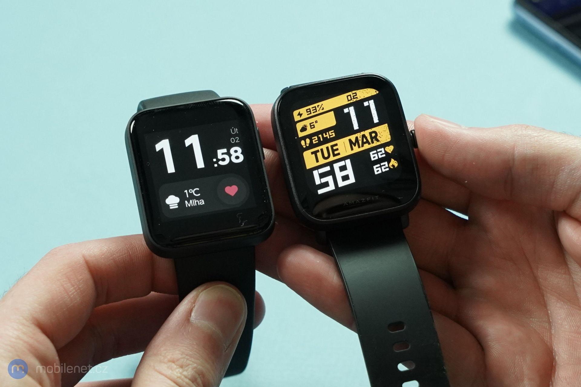 Xiaomi Amazfit Bip U Pro a Xiaomi Mi Watch Lite