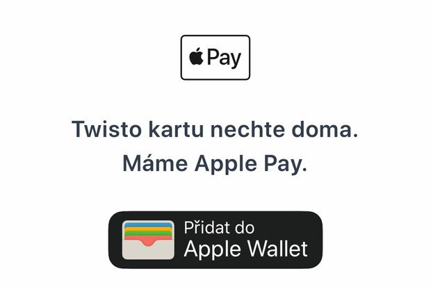 Twisto zpřístupnilo Apple Pay