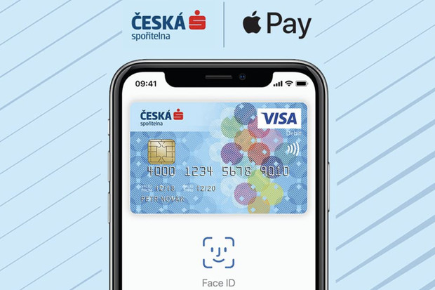 Apple Pay u České spořitelny už funguje i s kartami Mastercard