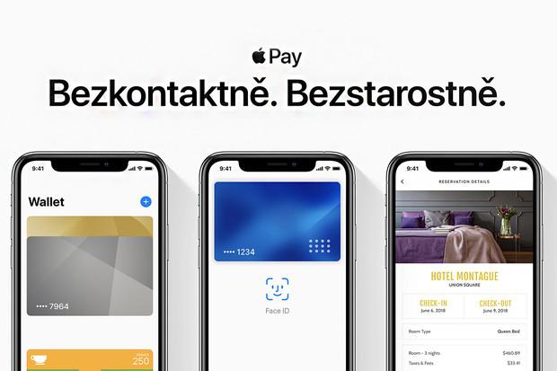 Registrace do Apple Pay předčily očekávání, počítají se na desítky tisíc
