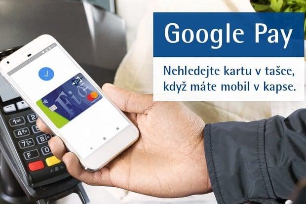 Fio banka spouští Google Pay. Můžete jej využít i k výběrům z bankomatu