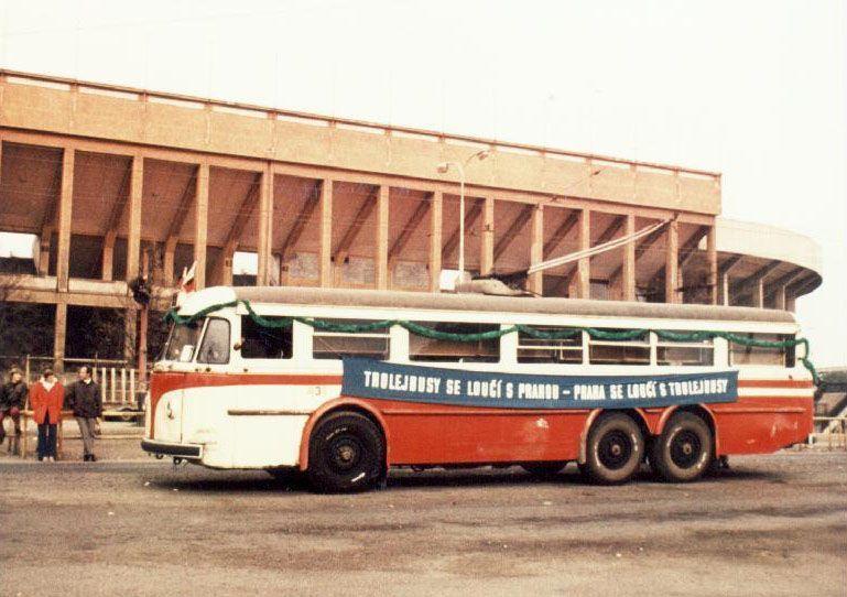 15.10.1972: Trolejbusy se loučí sPrahou – Praha se loučí strolejbusy