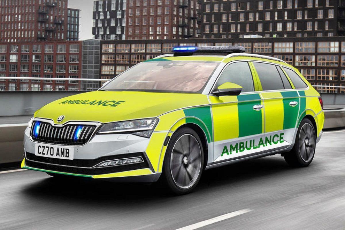 Ambulance Škoda Superb IV