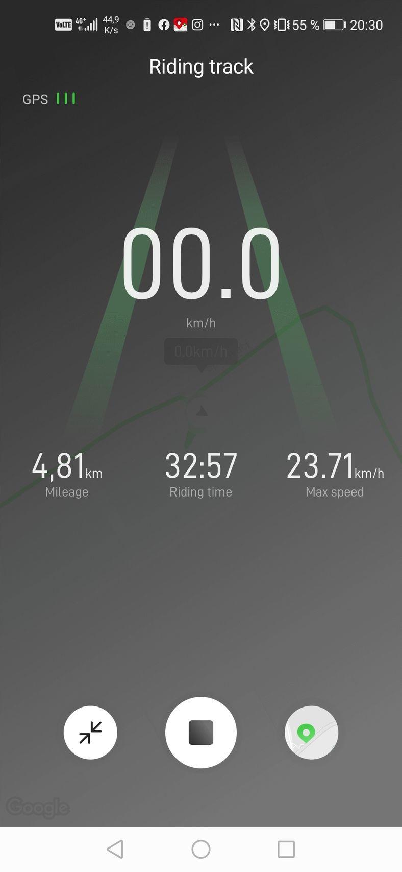 Aplikace ke koloběžce SEAT MÓ eKickScooter 25