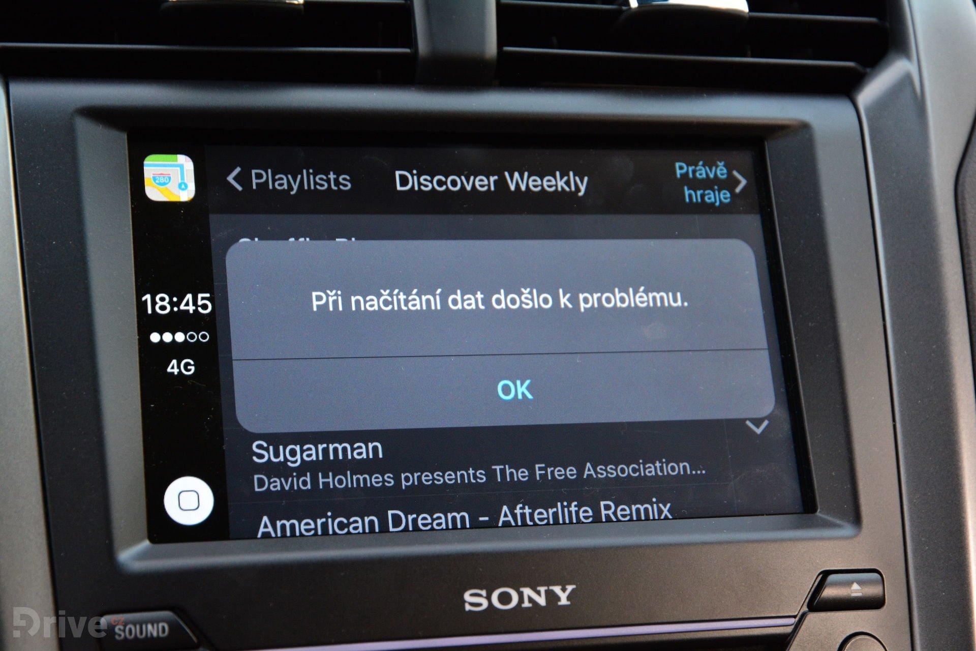 Apple CarPlay ve Fordu Mondeo