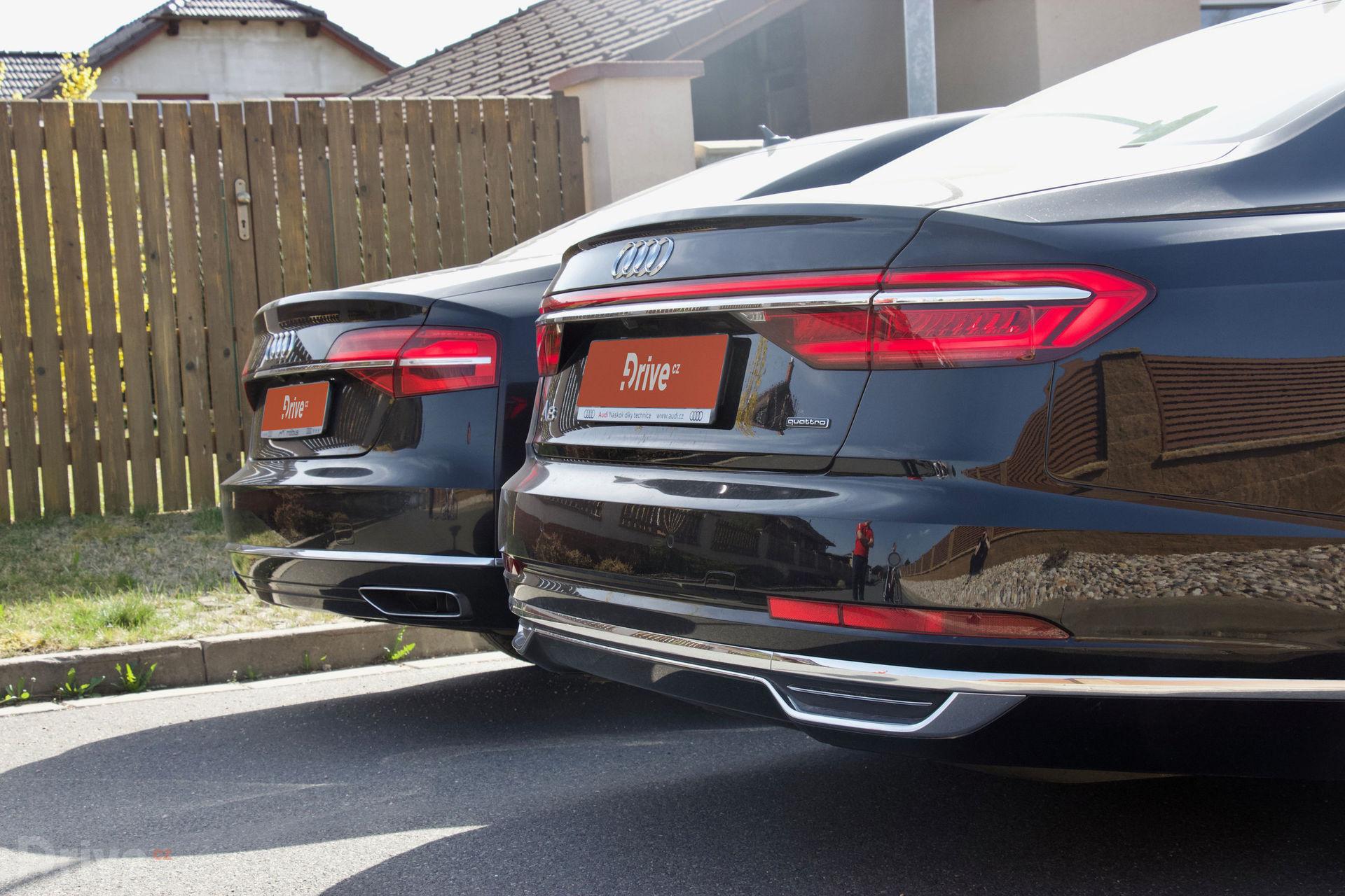 Audi A8 (2010) vs Audi A8 (2017)