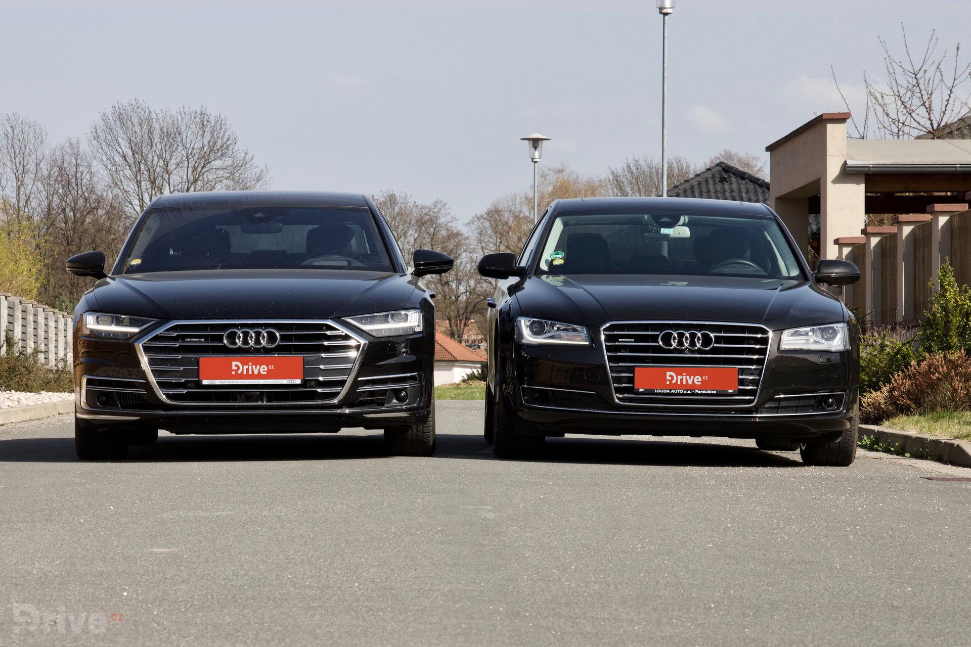 Audi A8 (2017) vs Audi A8 (2010)