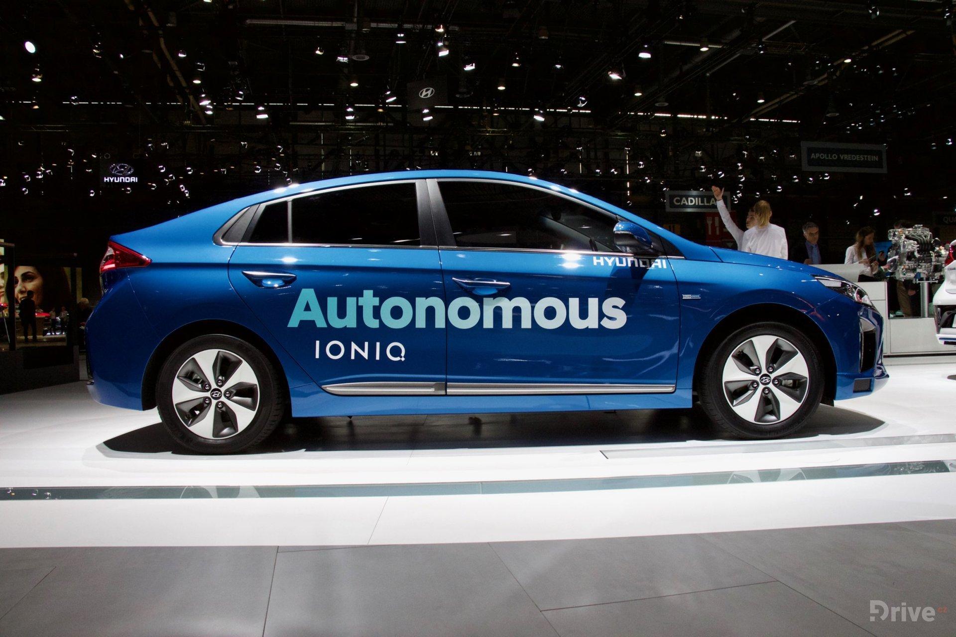 Autonomní Hyundai Ioniq