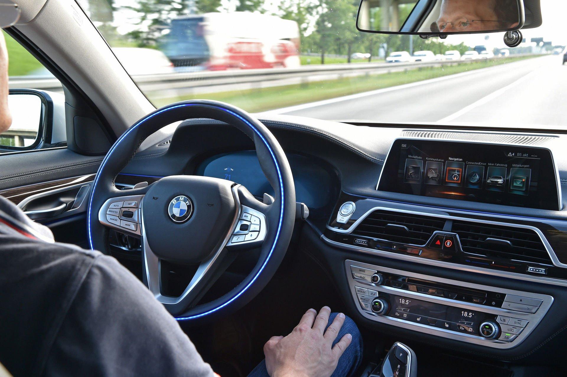 Autonomní řízení BMW