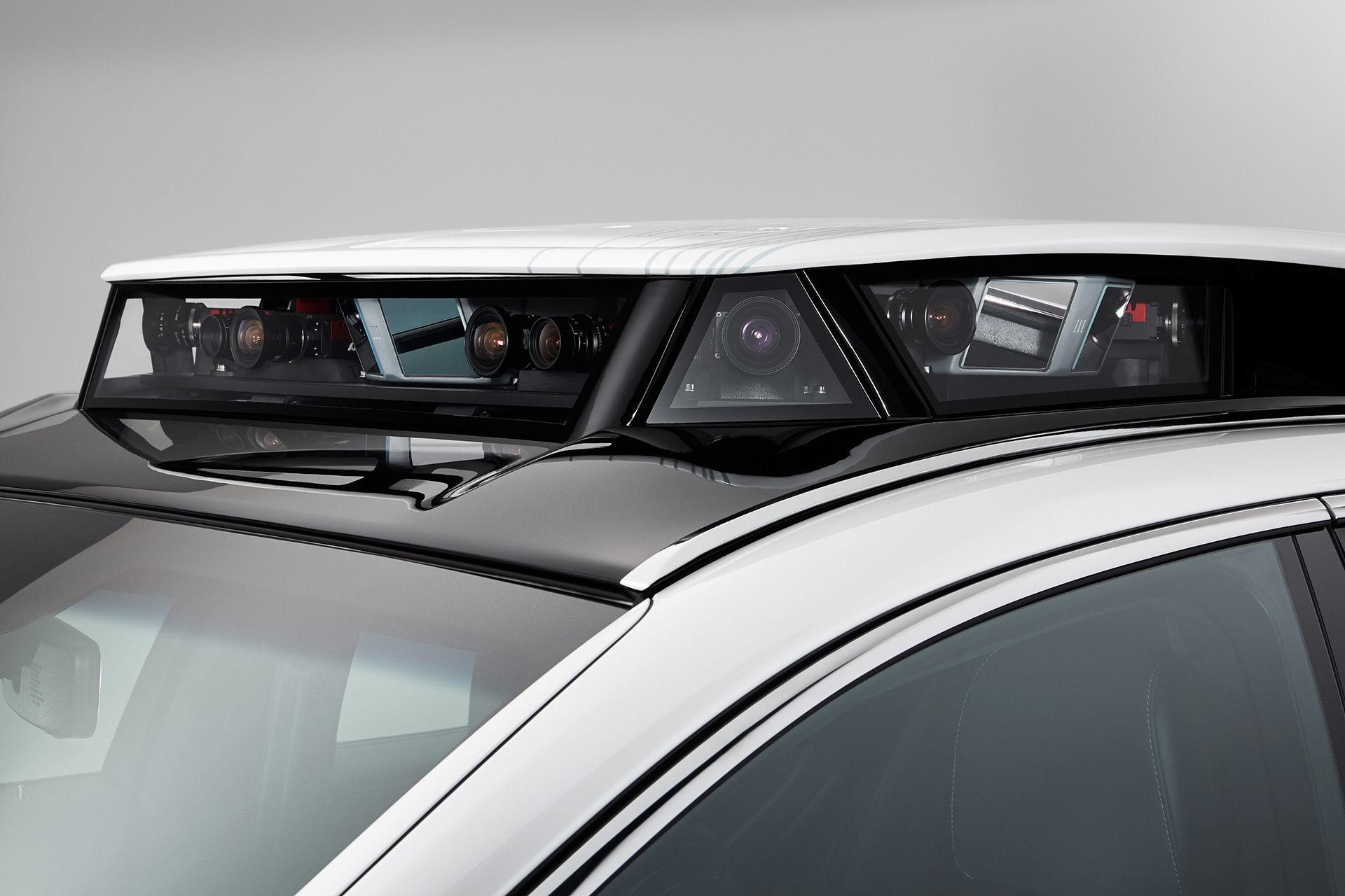 Autonomní vůz Lexus P4