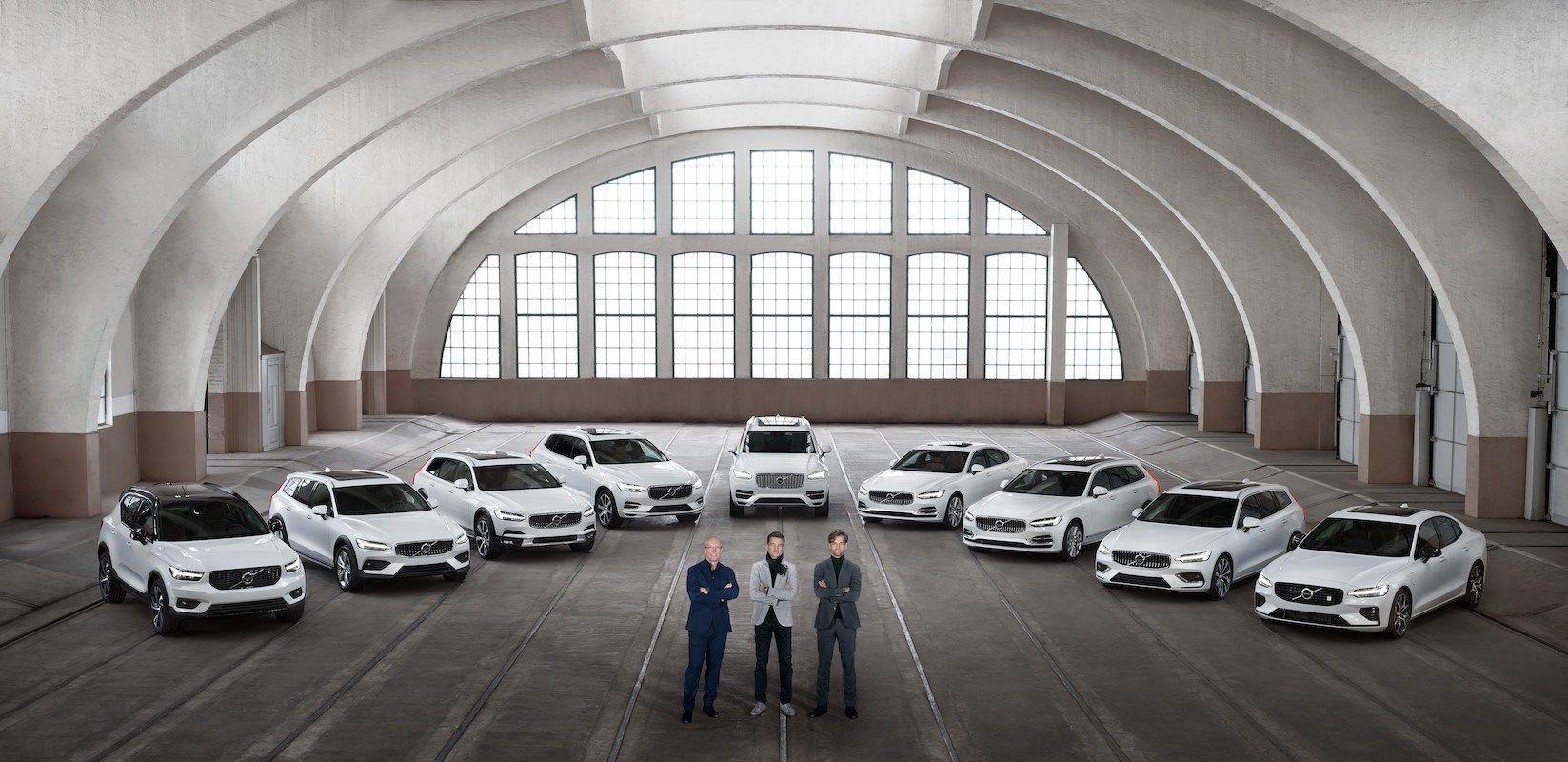 Celá modelová řada Volvo
