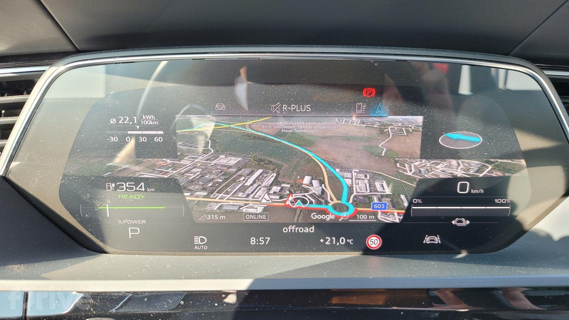 Cesta do Chorvatska  - Audi e-tron