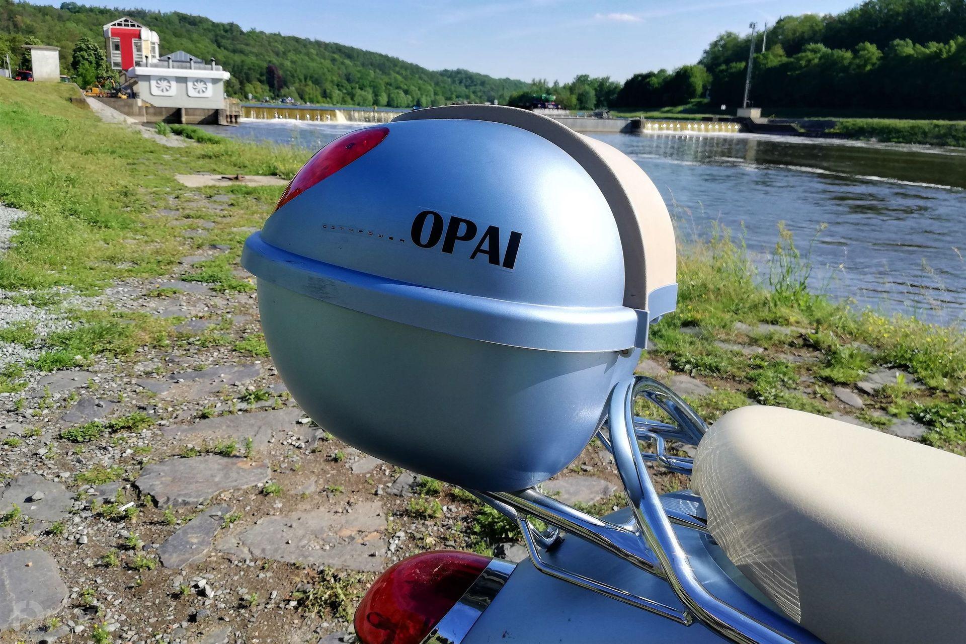 Elektrický skútr OPAI model OPG-EM006 (Retro)