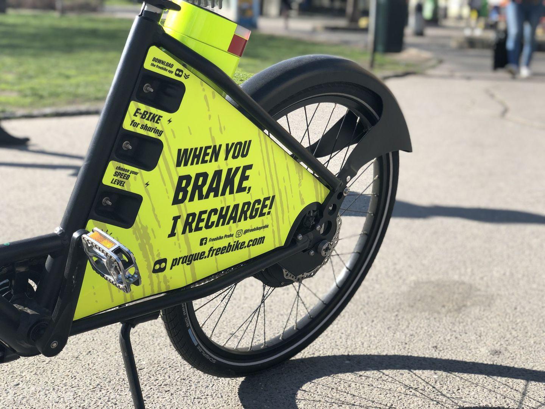 freebike - sdílená elektrokola