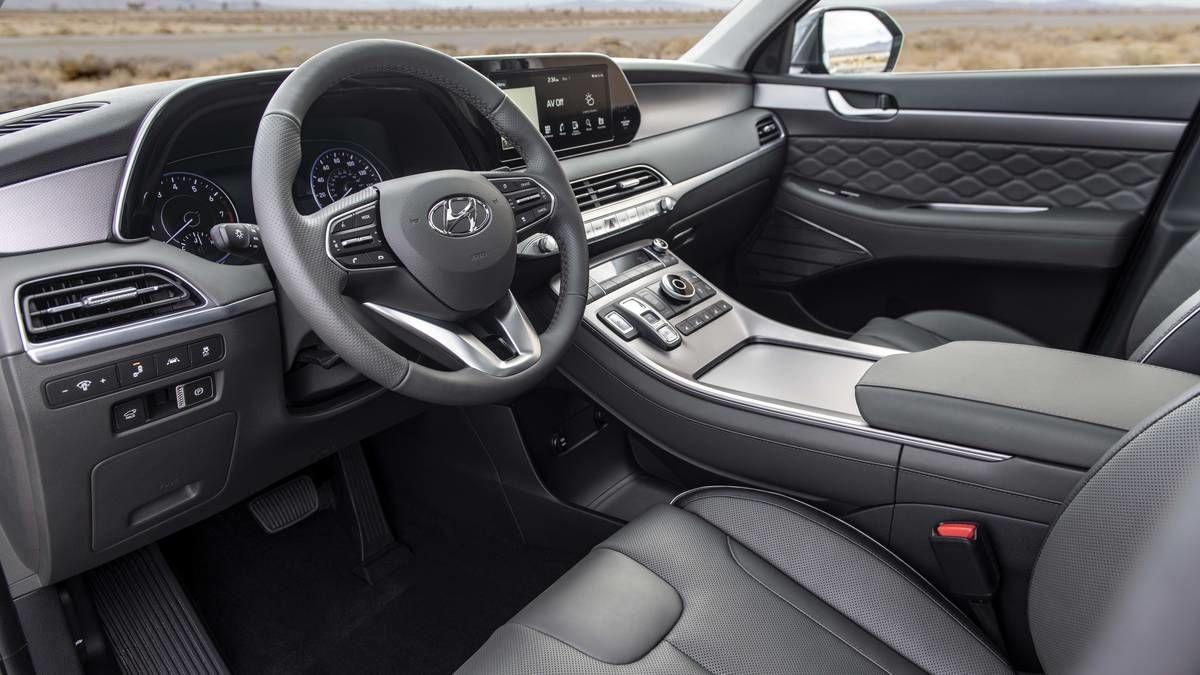 Hyundai Palisade interiér