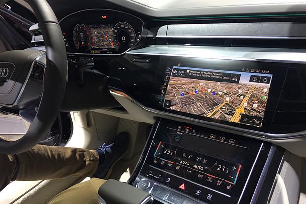 Co znamená autonomní řízení úrovně 3? Audi A8 rádo předvede