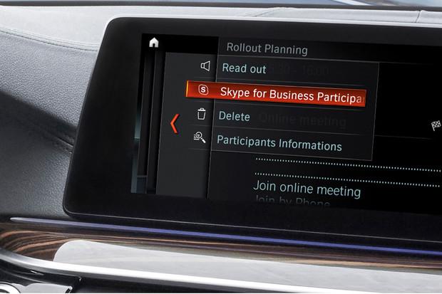 Využíváte volání přes Skype? Za jízdy v BMW už nezmeškáte jediný hovor