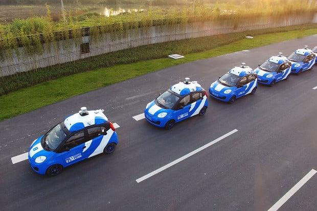 Microsoft chce rozšířit čínskou platformu pro autonomní auta do zbytku světa