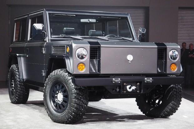 Bollinger Motors si nechávají patentovat svůj elektrický pickup a SUV
