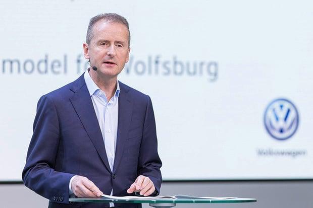 Šéf Volkswagenu Diess: Elektromobily nejsou tím hlavním, co změní svět aut