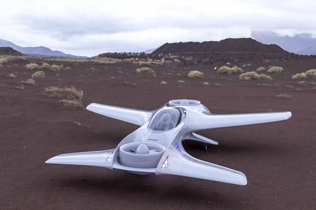 Plánované elektrické letadlo DeLorean zdolá na jedno nabití skoro 200 kilometrů