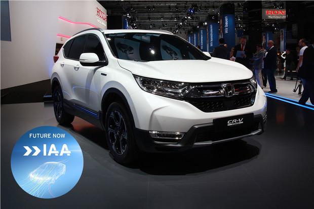 Honda nelákala zbytečně a představila CR-V Hybrid. Moc toho ale zatím nevíme