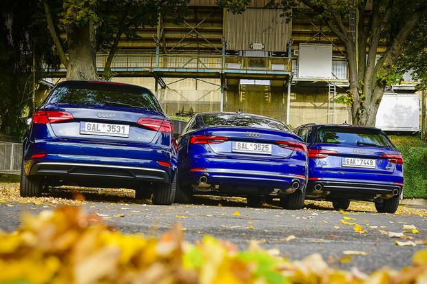 Rodina Audi g-tron je kompletní. Audi A4 a A5 g-tron můžou stát i ve vaší garáži