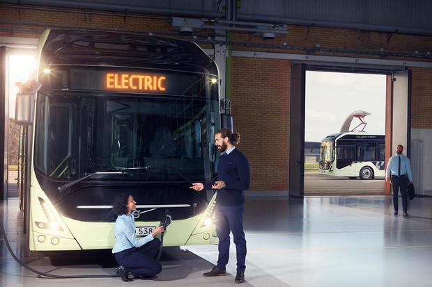 Volvo podepsalo kontrakt na dodávku 60 elektrických autobusů