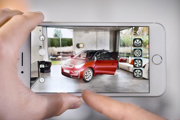 BMW nabízí aplikaci pro rozšířenou realitu využívající technologii Apple ARKit