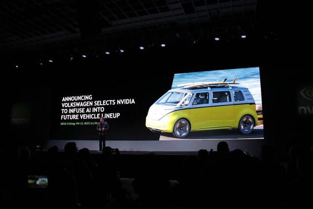 NVIDIA pomůže Volkswagenu. Vytvoří kopilota s umělou inteligencí pro I.D. BUZZ