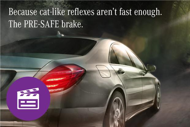 Nejlepší automobilové reklamy: Mercedes vrací úder