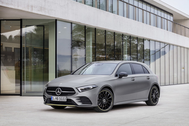 Mercedes-Benz třídy A nabídne semi-autonomní řízení i umělou inteligenci