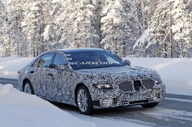 Třída S od Mercedesu se už testuje. Bude plug-in hybrid a později i elektromobil