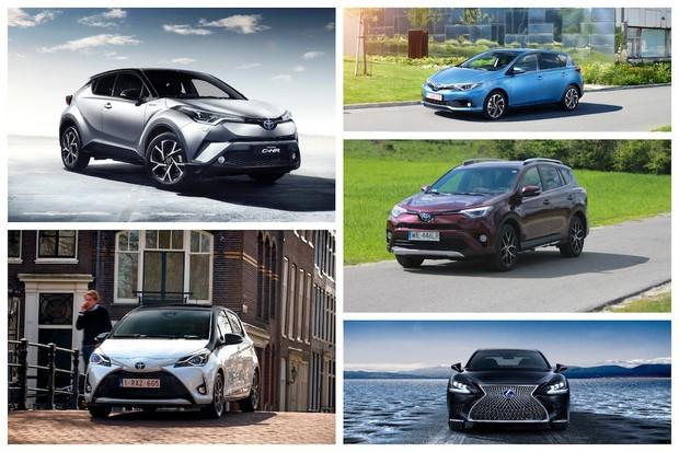 Toyota v Paříži představí samé hybridní modely