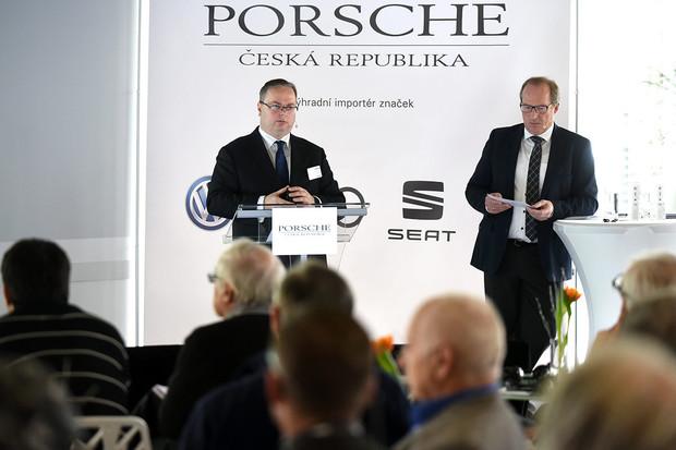 Porsche Česká republika opět mělo důvod k oslavám. Uplynulý rok byl rekordní