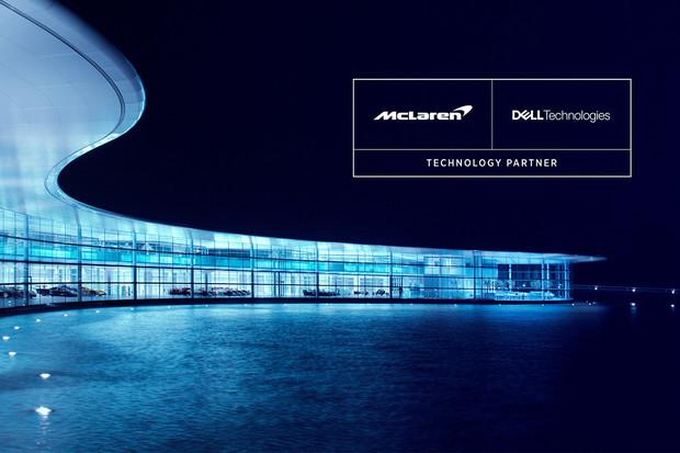 Společnosti McLaren a Dell Technologies vytvoří rozsáhlé partnerství