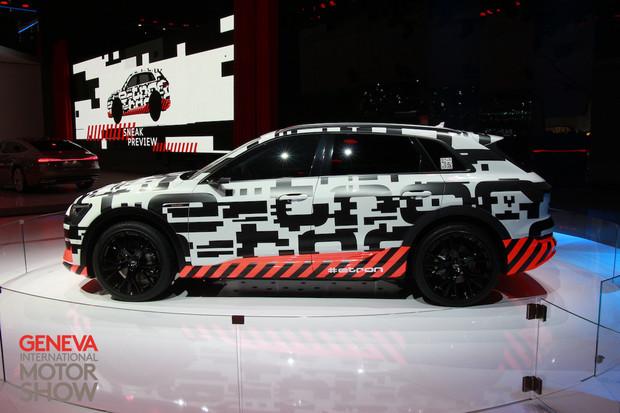 Audi e-tron získává v Ženevě finální podobu