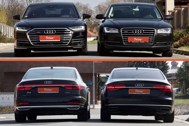 Stará, anebo nová – která generace Audi A8 se vám líbí více?