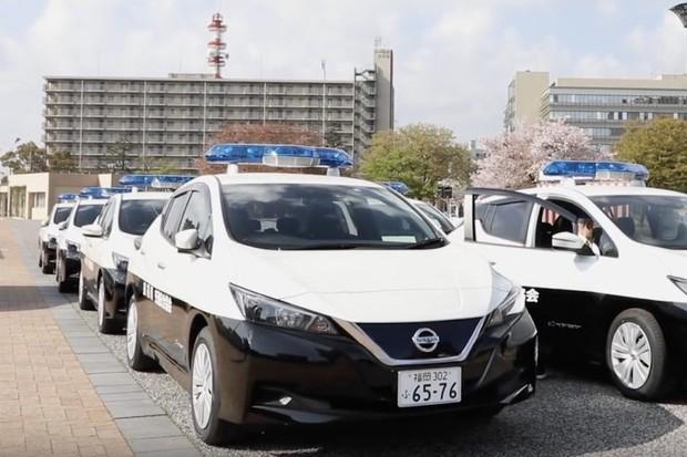 Nissan Leaf bude chránit japonský region před zločinem