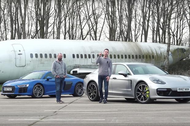 Nejsilnější Panamera v nabídce roznesla ve sprintu i Audi R8