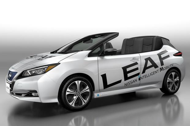 Nissan si postavil Leaf nahoře bez. Koupili byste si ho?