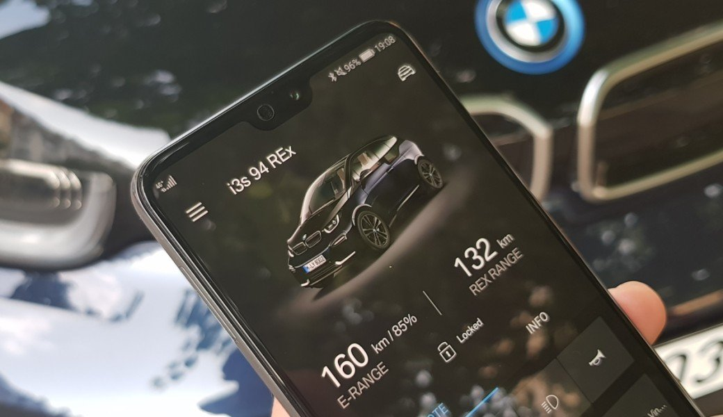 Aplikace BMW Connected