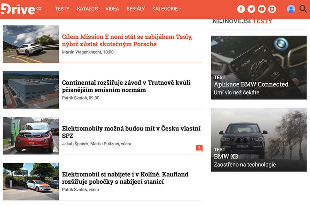 Spouštíme novou a přehlednější podobu úvodní stránky fDrive.cz