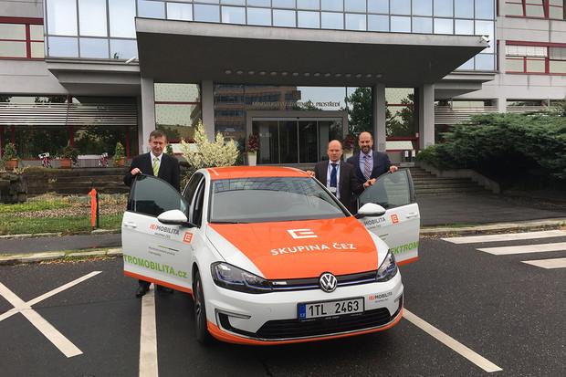 Ministerstvo životního prostředí jezdí elektromobilem od ČEZ