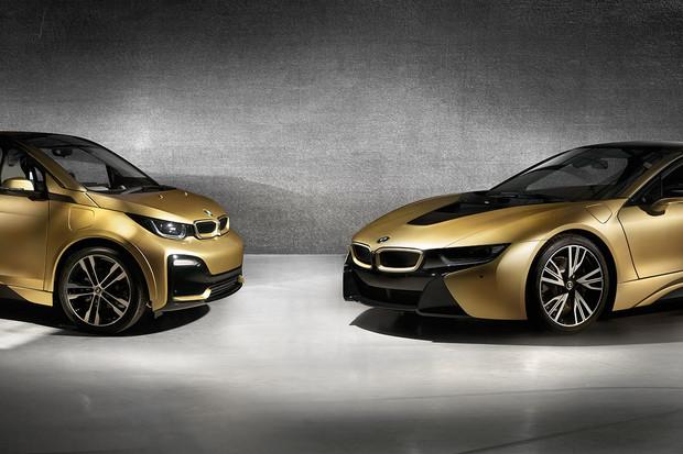 Je libo pozlacené BMW i8 a i3? Mohou být vaše, ale ani deset milionů nemusí stačit