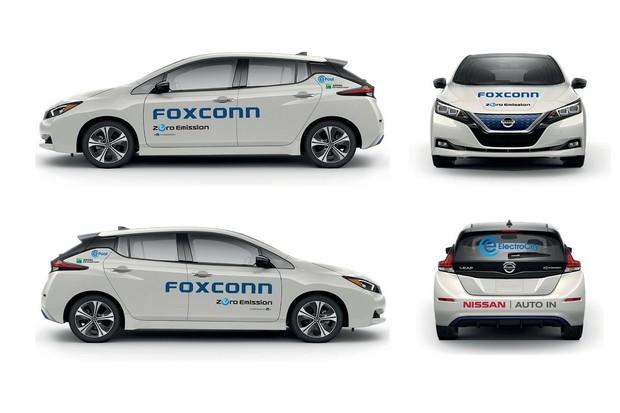 Společnost Foxconn převzala do svého vozového parku nové Nissany Leaf
