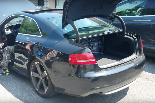 Elektromobil Audi S5 existuje. Baterky musely do kufru