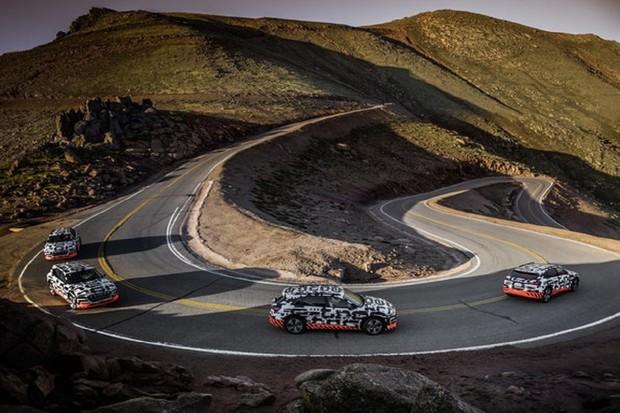 Pikes Peak opět v centru dění. Audi zde testovalo nové elektrické SUV